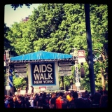 Aids Walk *Sniff* NYC *Sniff* 2012*Sniff*