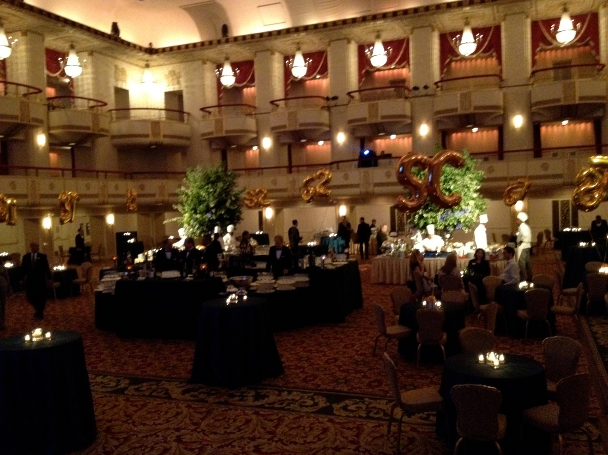 Sorry for the cell pick but the Grand Ballroom was gorgeous!