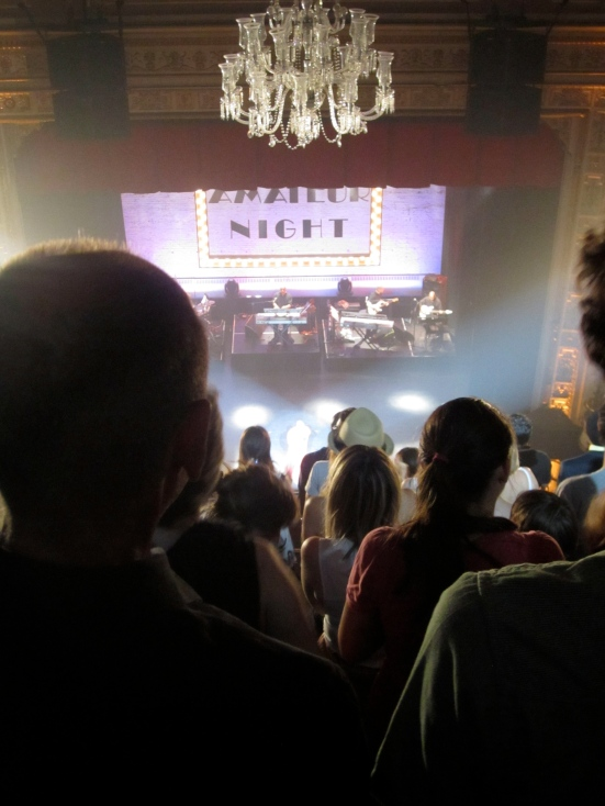 Balcony at Amateur Night at the Apollo