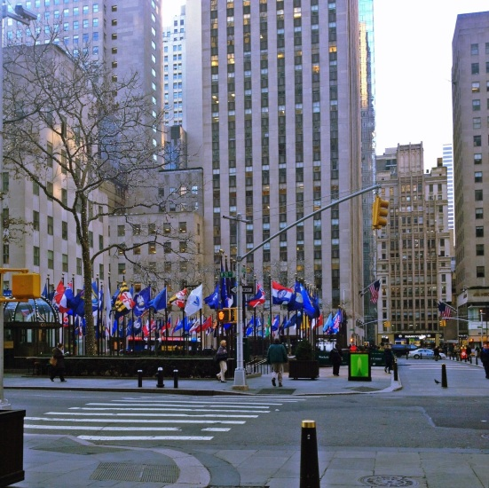 And the day begins in my favorite place.. 30 Rock.