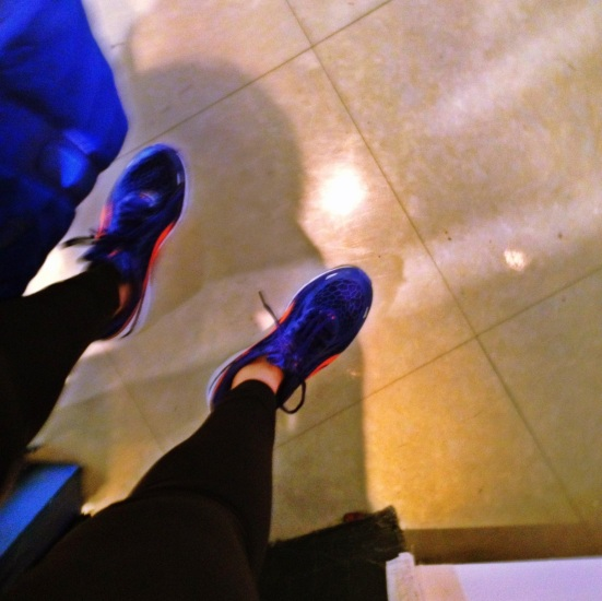 Proof that I made it.. in my new fancy shoes!