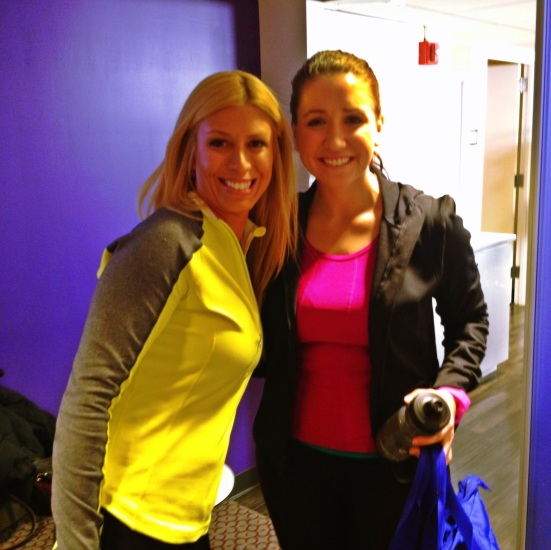 Jill Martin and I after the shoot! I can't believe it all happened!!