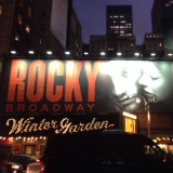 Rocky on Broadway was insanely surprising